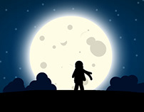 Moonlight Wind: Finger Painting with Photoshop Touch