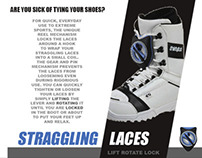 STRAGGLING LACES