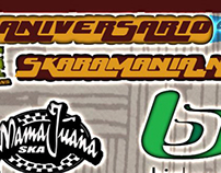 Flyer de Aniversario Skaramania