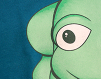 Frog: Toy to Graphic to T-Shirt