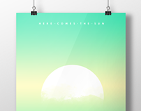 Here Comes The Sun (New Year) Poster