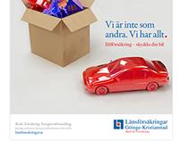 Länsförsäkringar Advert Designs - 2012