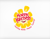 Happy Kernels Brand Identity & Cart Design