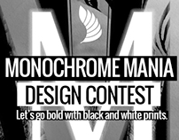 Monochrome Mania Design Contest