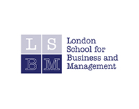 London School for Bussiness & Management  - logo