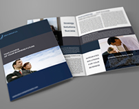 Company Brochure Bi-Fold Template Vol.14
