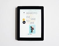 WEB DESIGN / AKIMOTO.NL