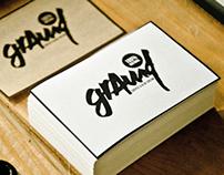 Brand Identity | grAund, coffee&aloe cream