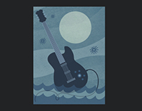Brandywine River Blues Festival Poster