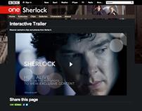Sherlock Season 3 Interactive Trailer