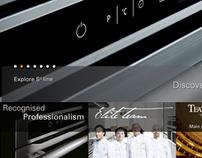 Scholtès.com and Scholtès.it restyling web and ipad app
