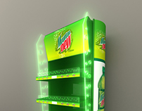 Mountain Dew Stand