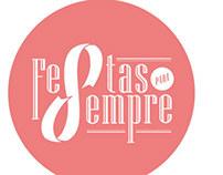 Logo Design for Festas para Sempre