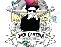Jack Cantina - CD Cover/Booklet