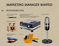 Marketing Manager Wanted
