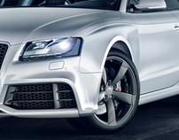 Visualisation Audi RS5