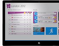 London 2012 Windows 8 App Design