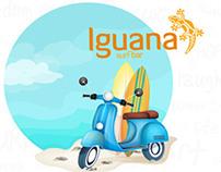 Tarjetas digitales para Iguana Surf Bar