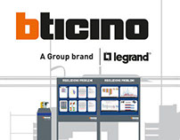 BTicino Factory Signage Redesign
