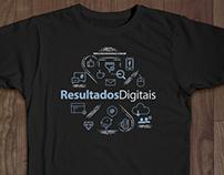 T-shirt Resultados Digitais