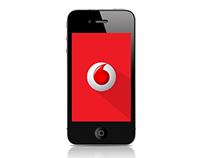 Vodafone print