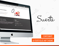 SUERTE – CORPORATE & PORTFOLIO WP THEME