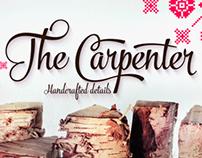 The Carpenter Typeface