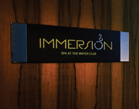 Immersion Spa, Identity