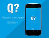 Q financiamento - App design