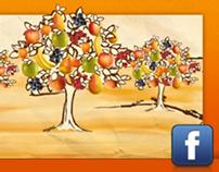 Storie di Frutta Mulino Bianco - Social