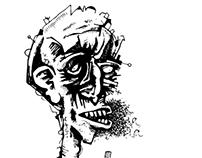 Vectorized Black&White Illustration