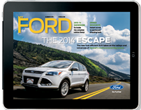 My Ford iPad App Redesign