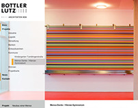 Website for Bottler Lutz Architekten BDA