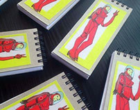 Sardine Collage Sketchbooks