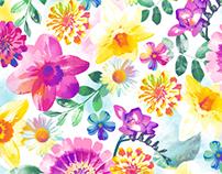 Feminine Floral Prints
