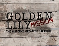 Golden Lily Mission - Flyer Design for SNAPTV