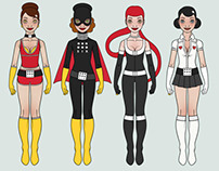 Costume Design for Sixgirl