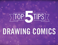 Top 5 Tips: Drawing Comics | Video