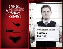 Crimes, mensonges et petites culottes : Patrick Balbek