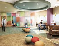 P + W Presbyterian St. Luke's Med Center Interiors