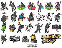 Bulungan Cup XV: Character Set