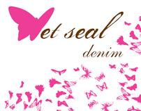 Wet Seal Brand Identity