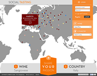 Social Tasting [Website & Facebook App]
