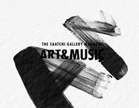 Art & Music: The Saatchi Gallery Magazine - Amar Stewar