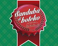 Logo, cardápio e display de mesa - Sanduba di Boteko