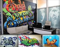Saki Dövme Stüdyosu - Graffiti