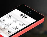 IOS 7 App Design, Real Estate, Sutton Quebec