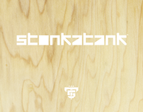 logo / CD cover / website for STONKATANK.