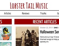 Music Publication Website