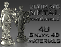 Cinema 4D Ultimate Metal Materials Pack